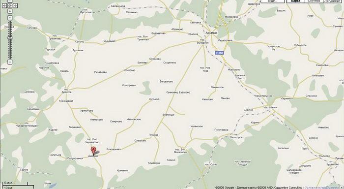 Дивеево где находится на карте