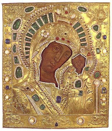 казанская икона божьей матери: