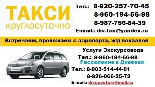 Москвы в Дивеево и обратно