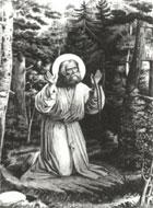 Ветеран.  Радуйся преподобне Серафиме.  Саровский чудотворче.  Каждое утро в Дивееве поется акафист батюшке...
